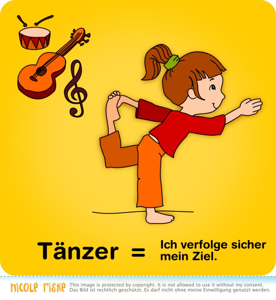 Kinder-Asana: Tänzer