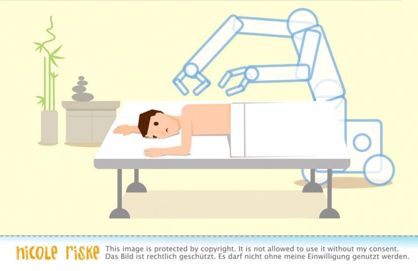 automatische Massage? lieber nicht.